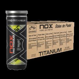 Carton 24 tubes de 3 balles PRO TITANIUM