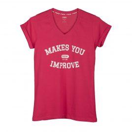 T-Shirt femme CASUAL NOX rose