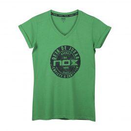 T-Shirt femme CASUAL NOX vert