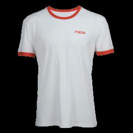 T-Shirt padel homme TEAM blanc