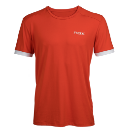 T-Shirt padel homme TEAM rouge
