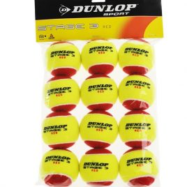 Dunlop STAGE 3 ROUGE (SAC 12 BALLES)