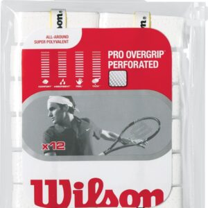 Wilson PRO OVERGRIPS PERFORATED x12